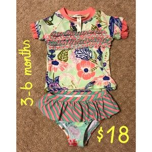 Matilda Jane Water baby two piece suit